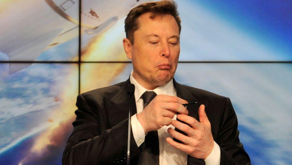 Elon Musk: Einfach mal Putin um ein Gespräch bitten