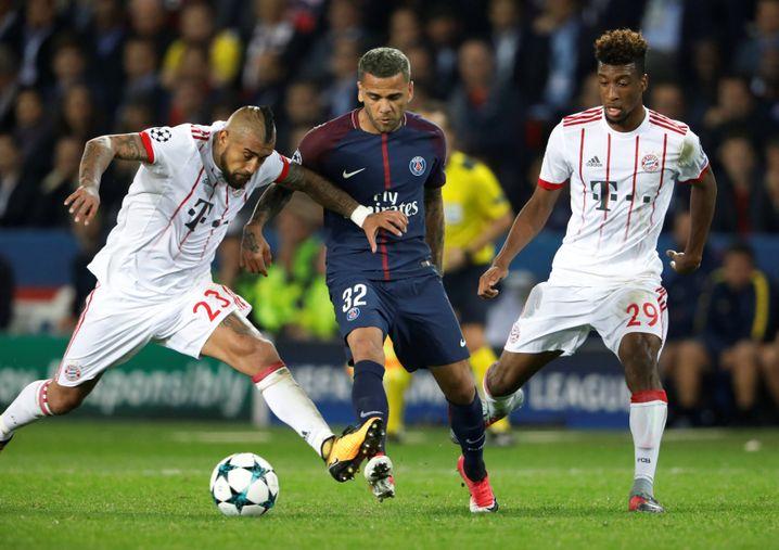 Champions-League-Begegnung Paris St Germain gegen FC Bayern