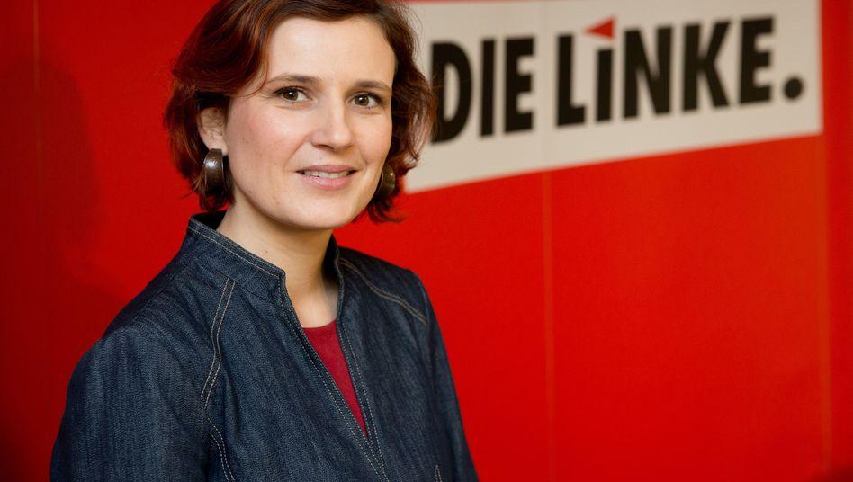 Linken-Chefin Kipping: Hartz IV durch sanktionsfreie Mindestsicherung ersetzten.