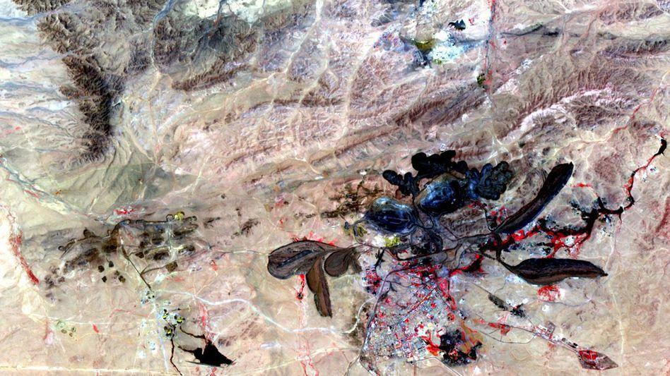 Mine in Bayan Obo: Die Produktion ist oftmals ein ziemlich schmutziges Geschäft