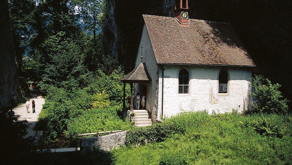Kapelle in der Verenaschlucht: Die lästige Pendelei fällt für den Einsiedler weg