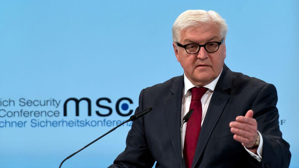 Münchner Sicherheitskonferenz: Bundespolitiker im Alphatier-Treffen
