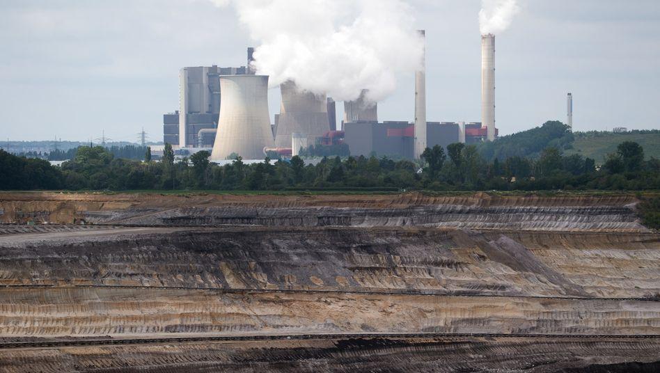 Braunkohletagebau in Nordrhein-Westfalen