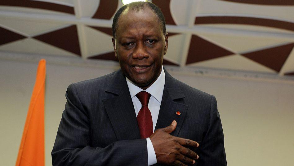 Oppositionspolitiker Ouattara: Konfrontation an der Elfenbeinküste