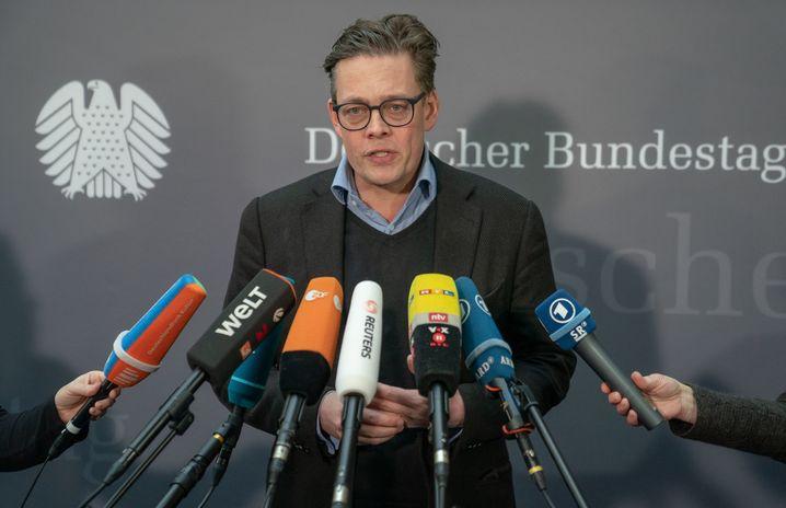 Konstantin von Notz, stellvertretender Grünen-Fraktionsvorsitzende im Bundestag (Archivfoto)