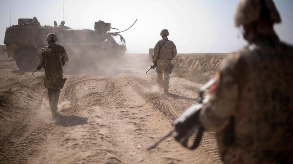 Bundeswehrsoldaten nahe Kunduz: Wie sicher ist das deutsche Einsatzgebiet noch?
