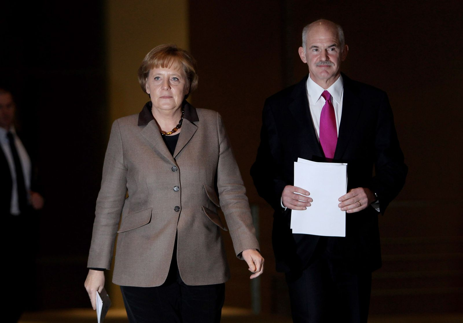 Merkel / Papandreou