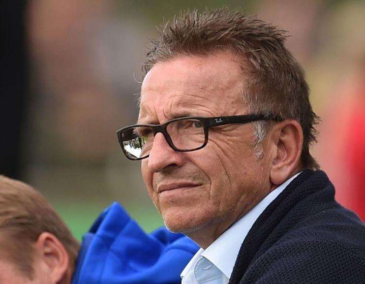Darmstadts Trainer Norbert Meier