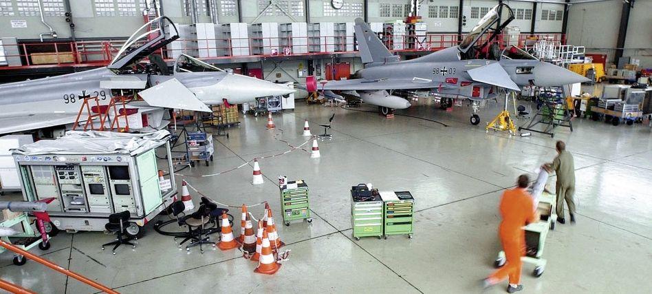 EADS-Werk bei Ingolstadt