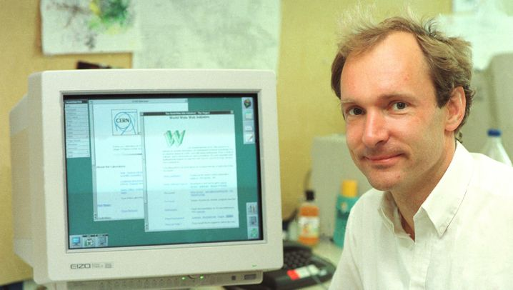 Photo Gallery: The Birth of the World Wide Web