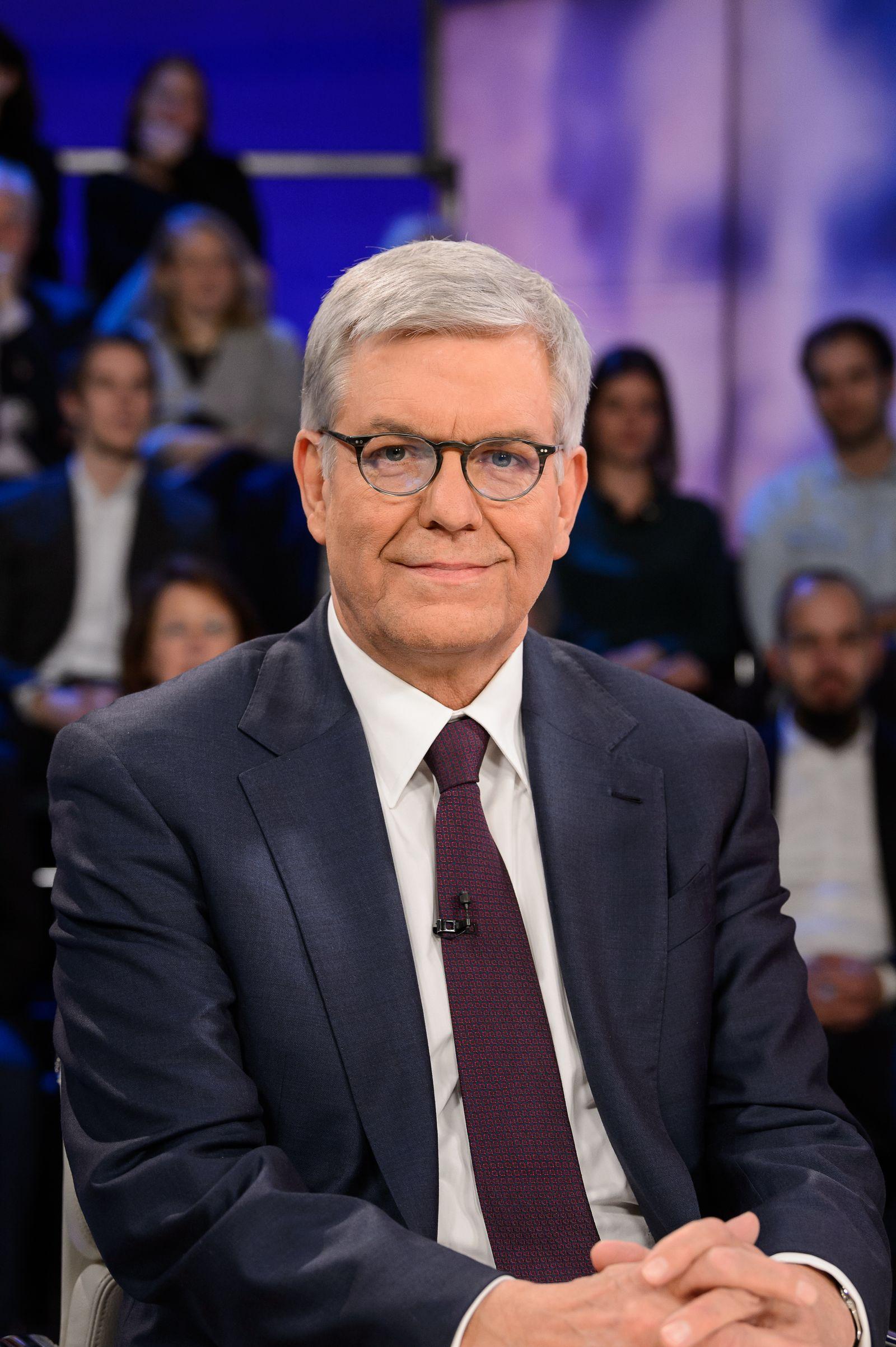 EINMALIGE VERWENDUNG Thomas Bellut/ ZDF