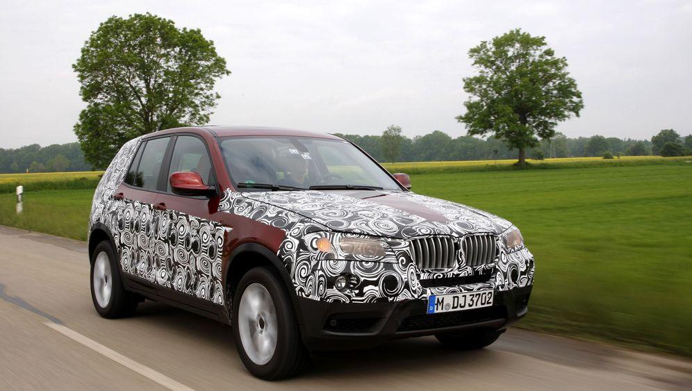 BMW X3: Mehr Komfort im Kompakt-SUV