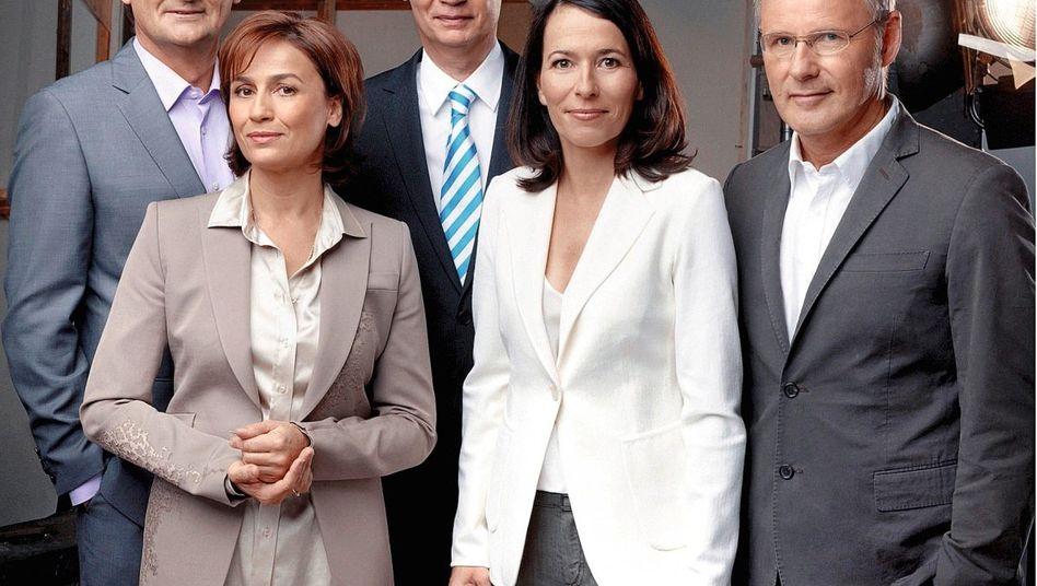 Talker Plasberg, Sandra Maischberger, Jauch, Will, Beckmann