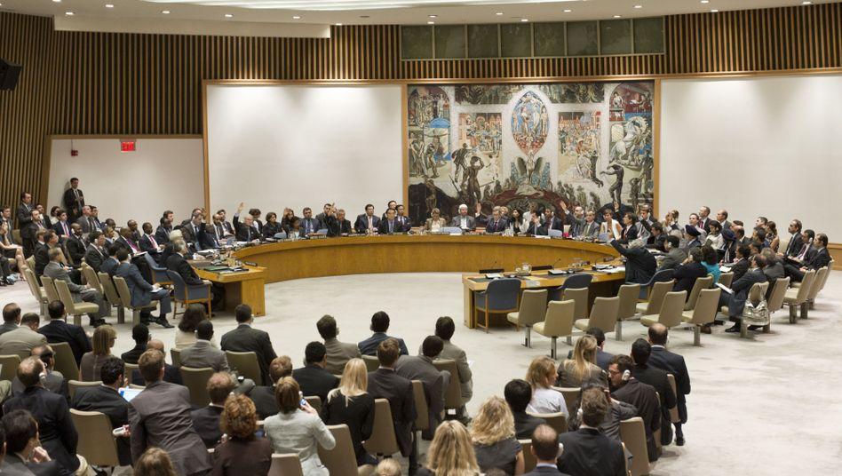 """Uno-Sicherheitsrat (bei früherer Syrien-Sitzung im Juli 2012): """"Lage inakzeptabel"""""""