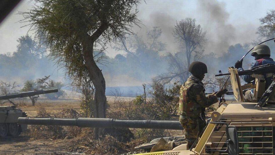 Nigrische Armee im Antiterroreinsatz (Archivbild)