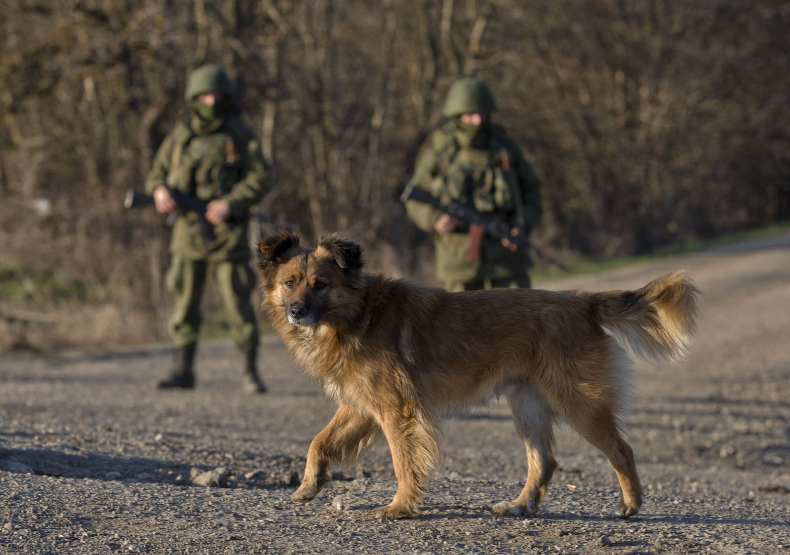 Ukraine/Russische Soldaten