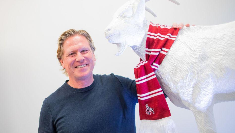 Trainer Markus Gisdol soll den 1. FC Köln und Geißbock Hennes aus der Krise führen