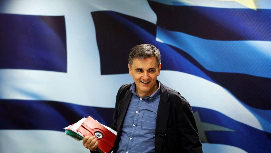 Finanzminister Tsakalotos (Archiv)