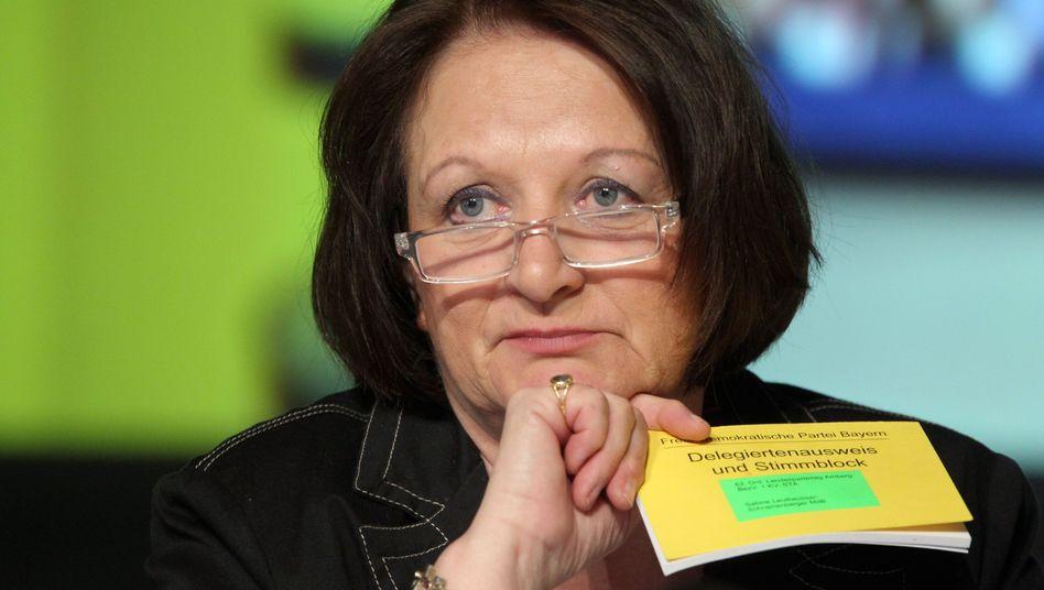 Bundesministerin Leutheusser-Schnarrenberger: In einer schwierigen Lage