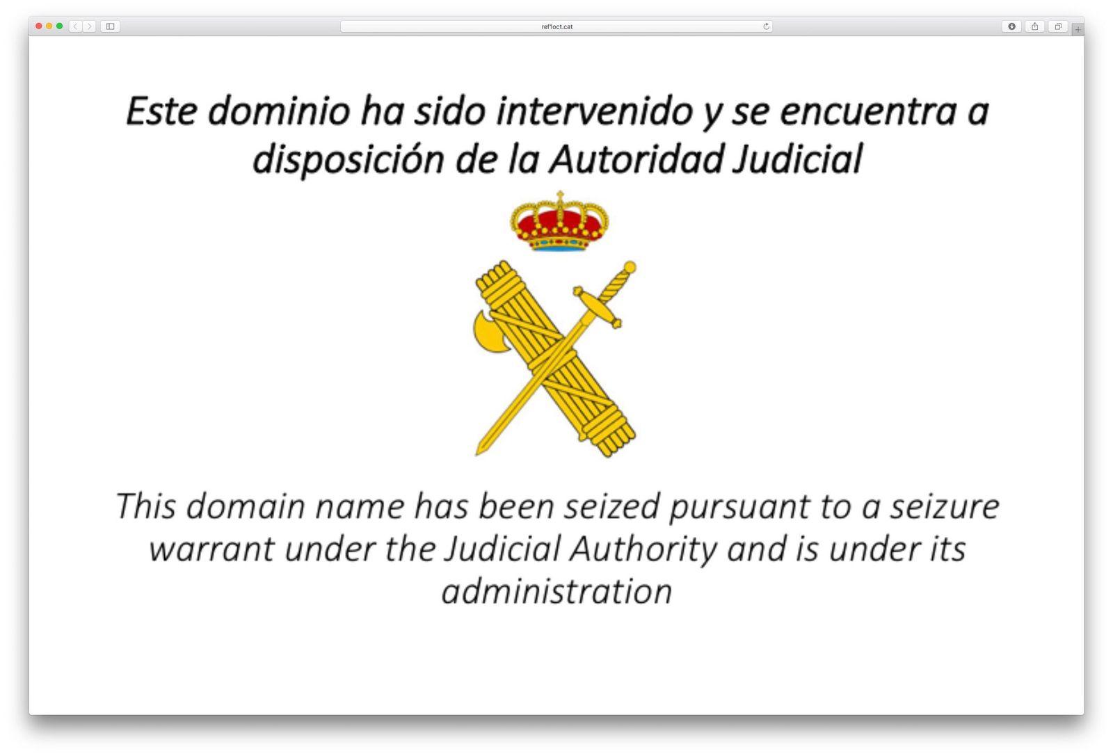 EINMALIGE VERWENDUNG SCREENSHOT NUR ALS ZITAT! Katalonien/Internet
