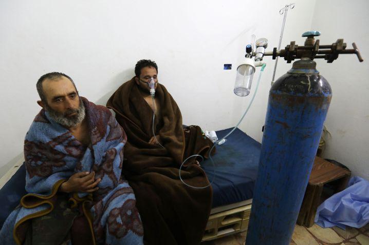 Verletzte nach mutmaßlichem Chlorgasangriff in Sarakeb