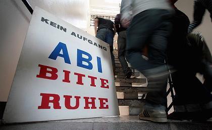 Abi-Prüfungen: Mit der Ruhe ist es vorbei