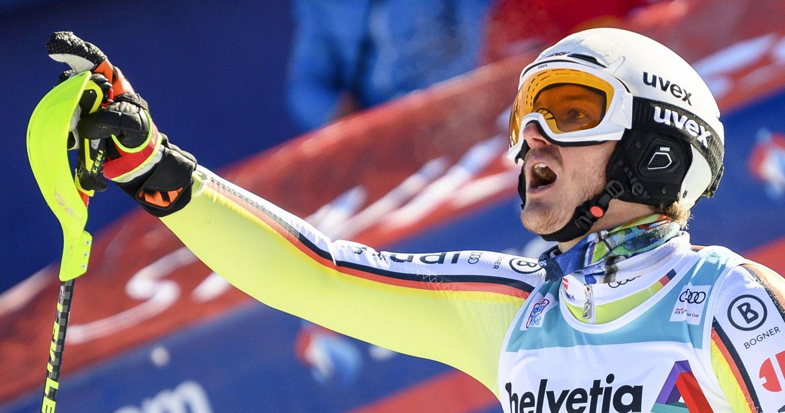 FIS Alpine Skiing World Cup in Adelboden, Switzerland - 10 Jan 2021