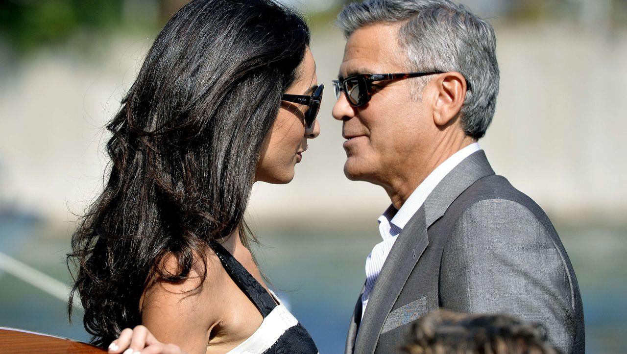 George Clooney beim Hochzeitsantrag: »Schau, ich renke mir hier meine Hüfte aus«