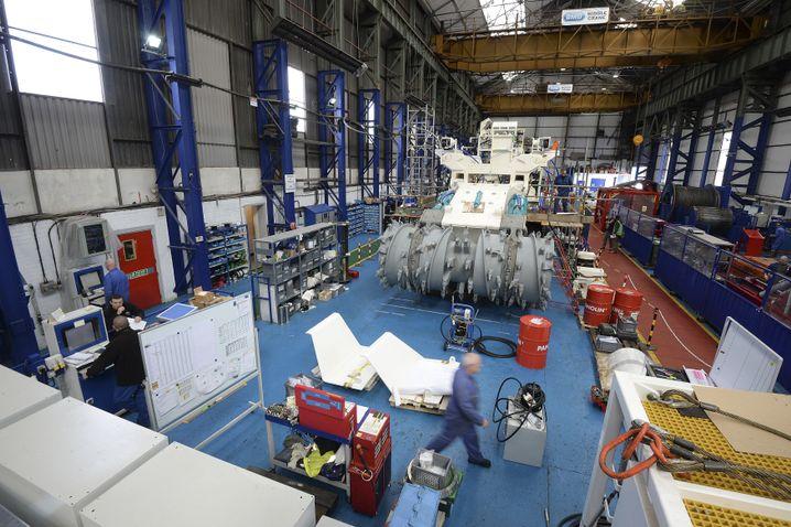 Tiefseeschürfmaschine der Firma Nautilus Minerals in Nordengland
