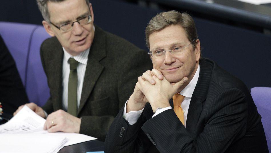 FDP-Chef Westerwelle (r.): Kein Schuldbewusstsein nach Millionenspende