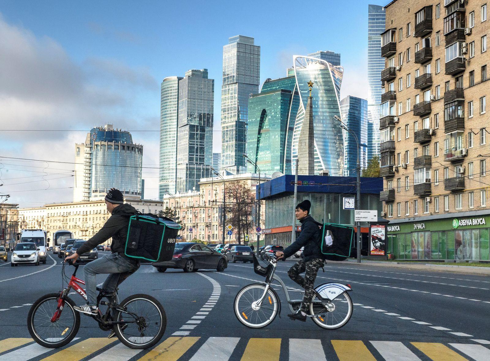 Moskau/ Zeitwandel/ 2017