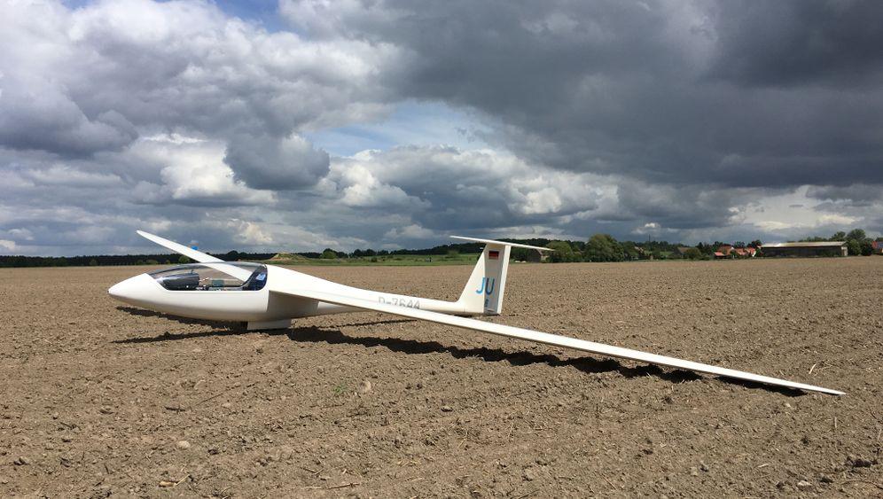 Segelflug-Blog: Landung auf dem Acker