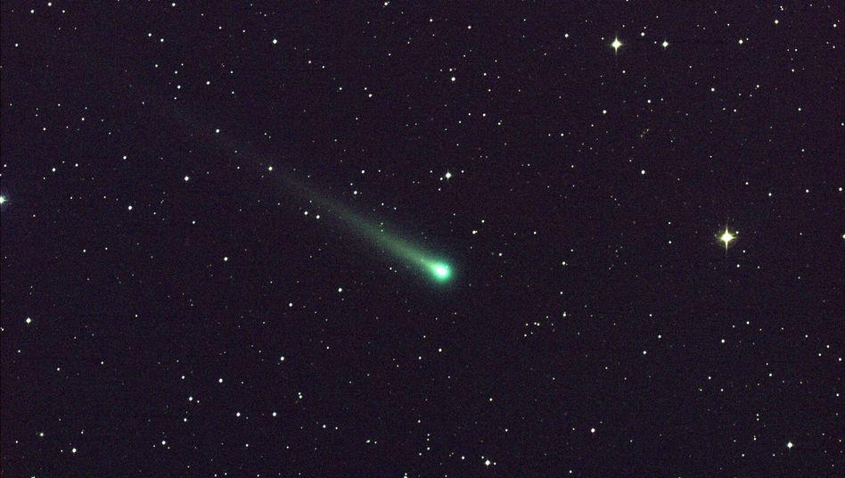 Komet Ison: Mit 77.000 km/h nimmt der Schweifstern Kurs auf die Sonne. Schon jetzt kann man ihn durchs Fernrohr sichten