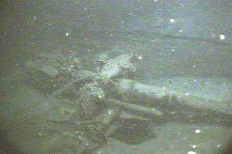 """Liegt in 1500 Metern Tiefe: Das Wrack des U-Boots """"U-166"""""""