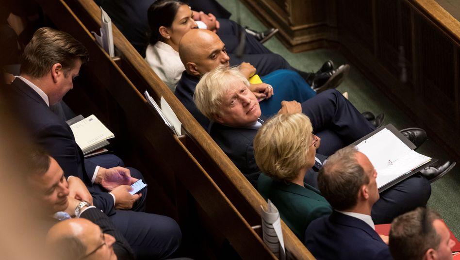 Boris Johnson im Unterhaus: Tory-Kritiker rausgeworfen