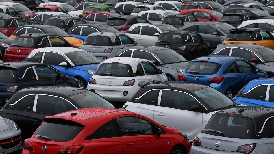 Opel-Fahrzeuge
