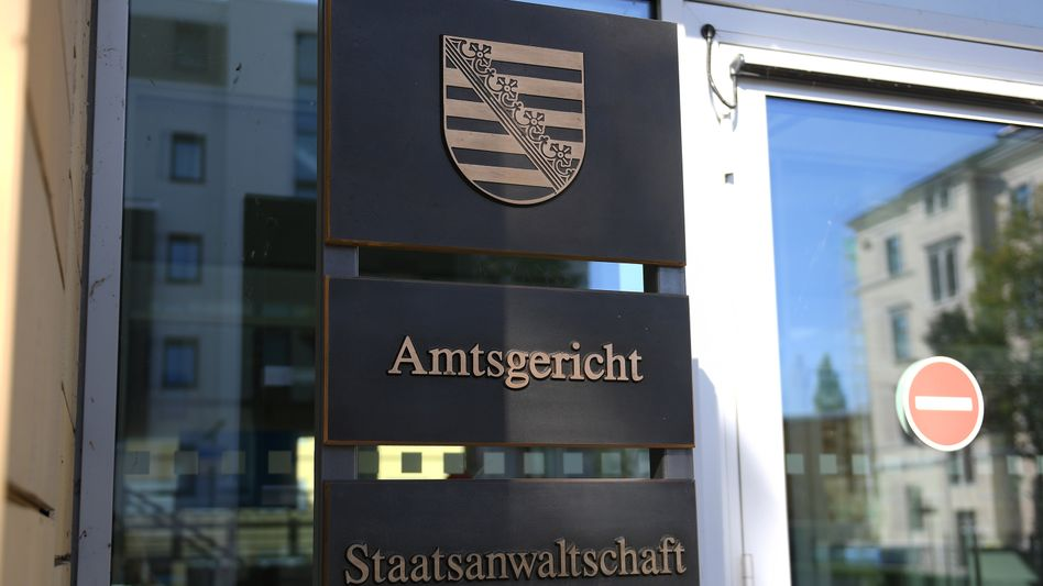 Justizzentrum in Chemnitz