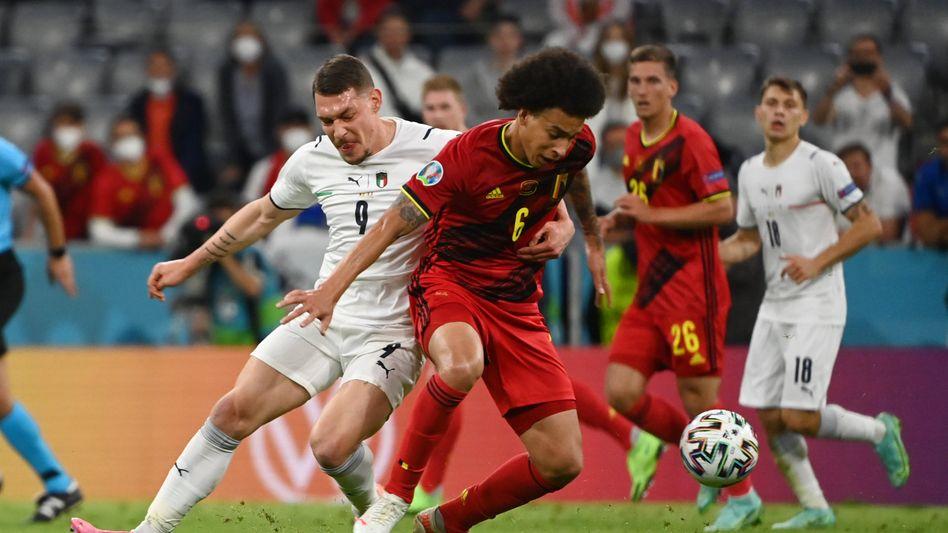 90 Minuten Klasse zwischen Italien und Belgien