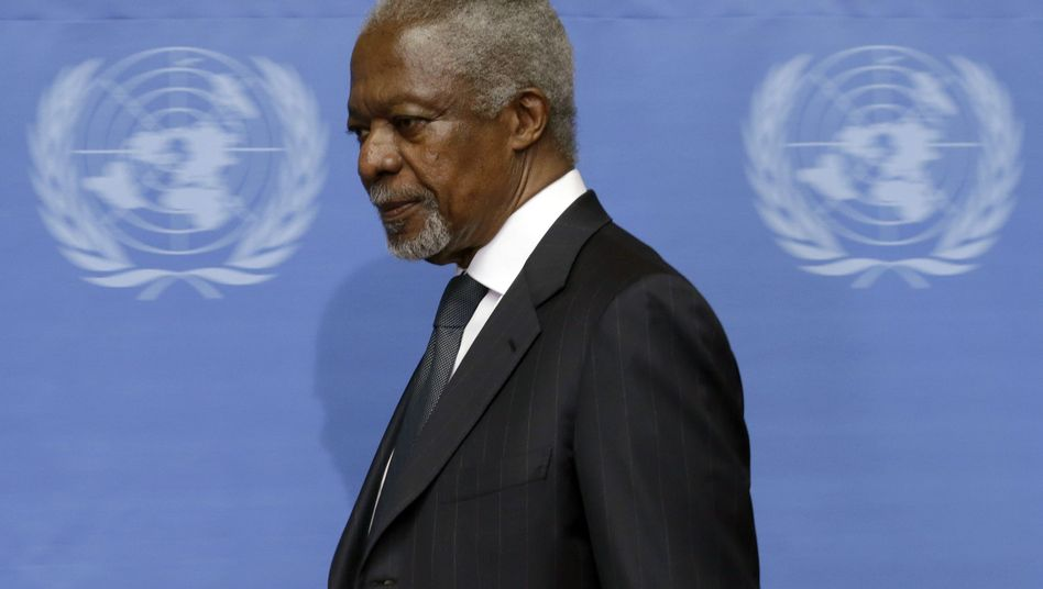 Erfolgloser Uno-Sondergesandter: Entnervter Kofi Annan schmeißt hin