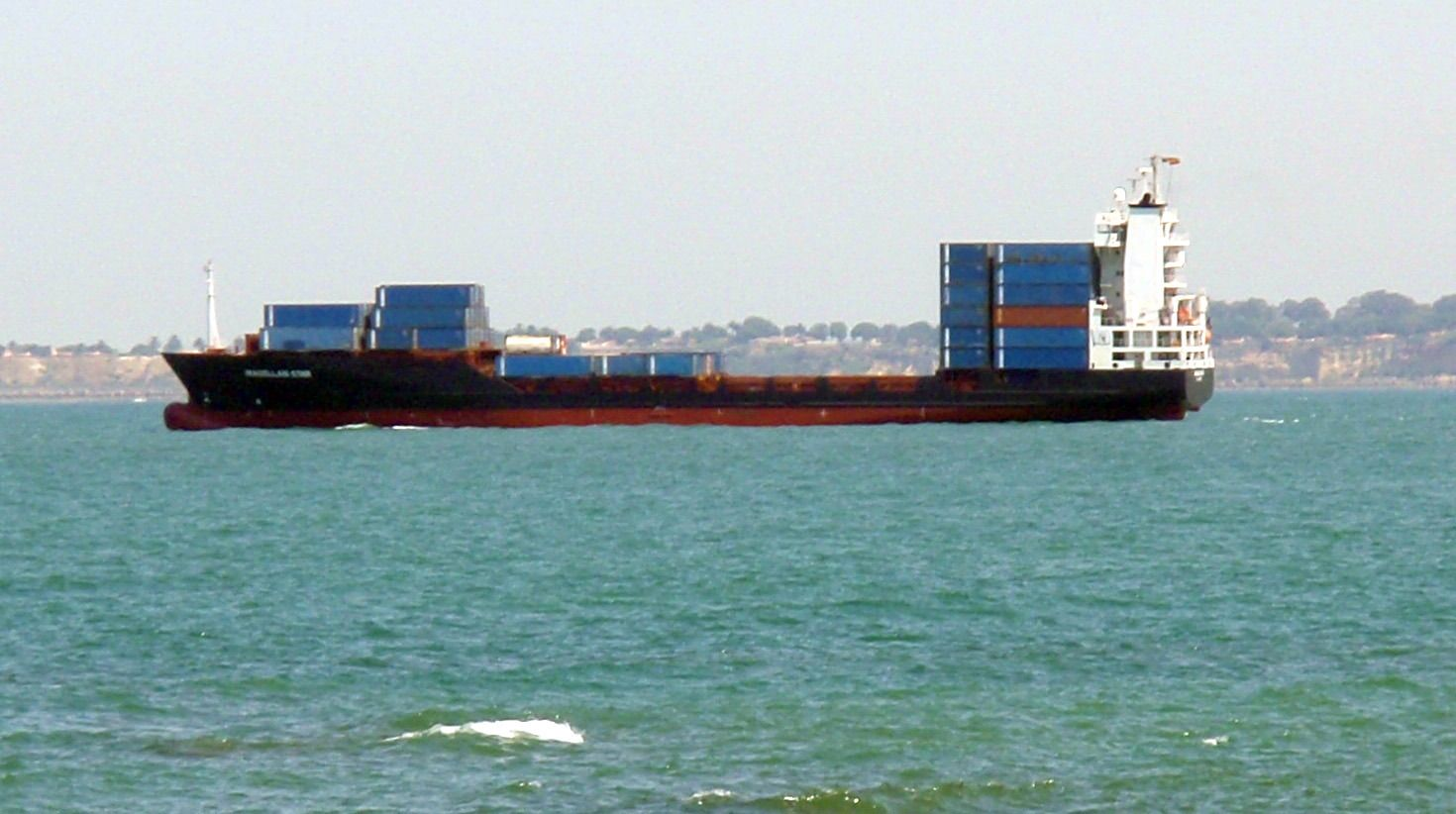 Containerschiff Magelan Star