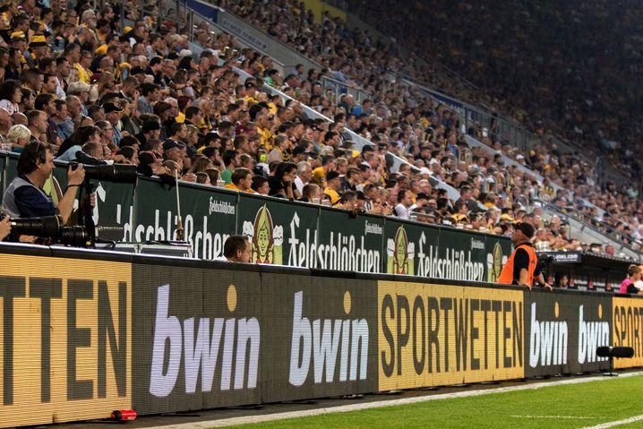 Sportwettenwerbung in der 2. Bundesliga