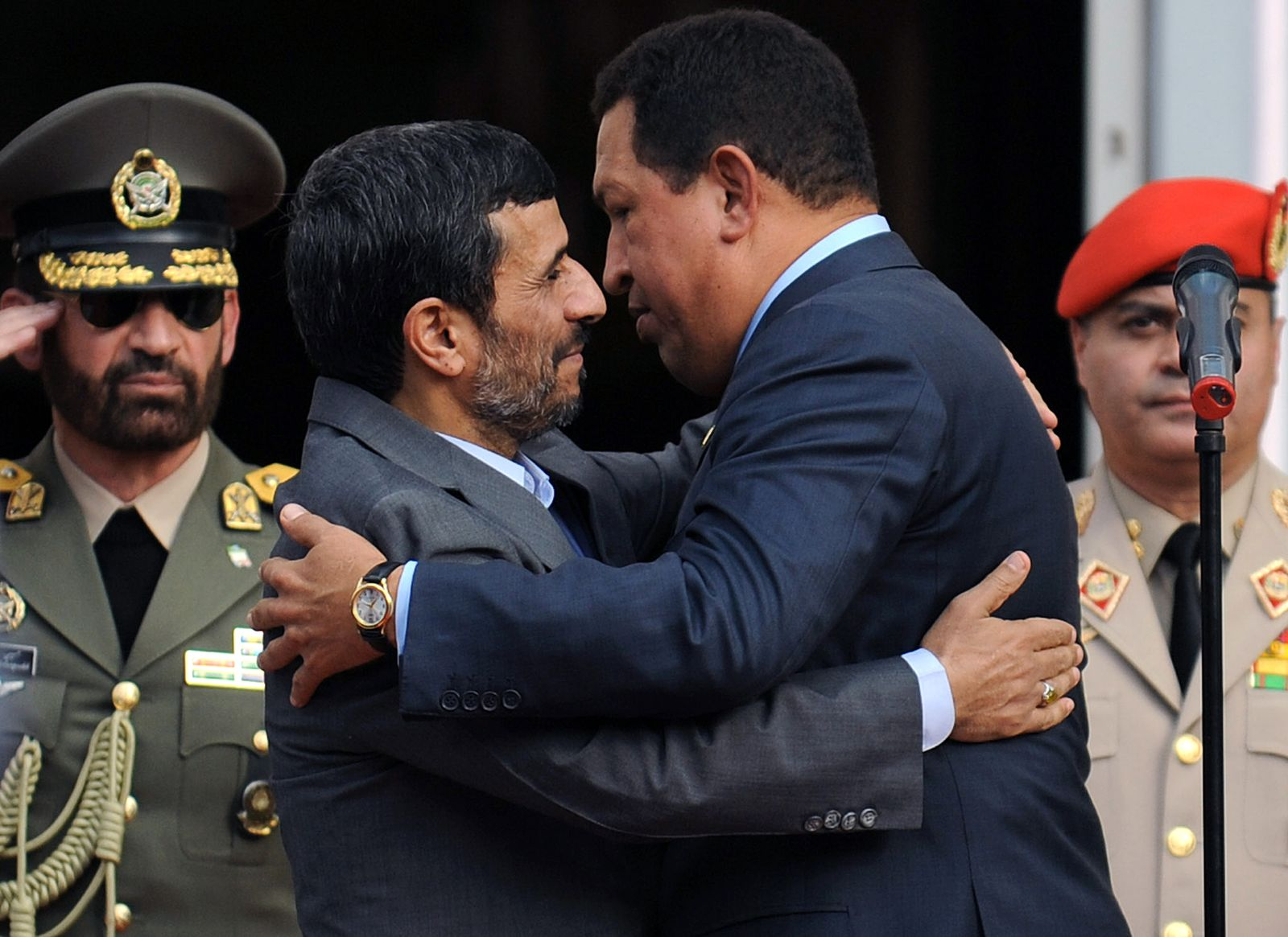 Ahmadinedschad/ Chavez