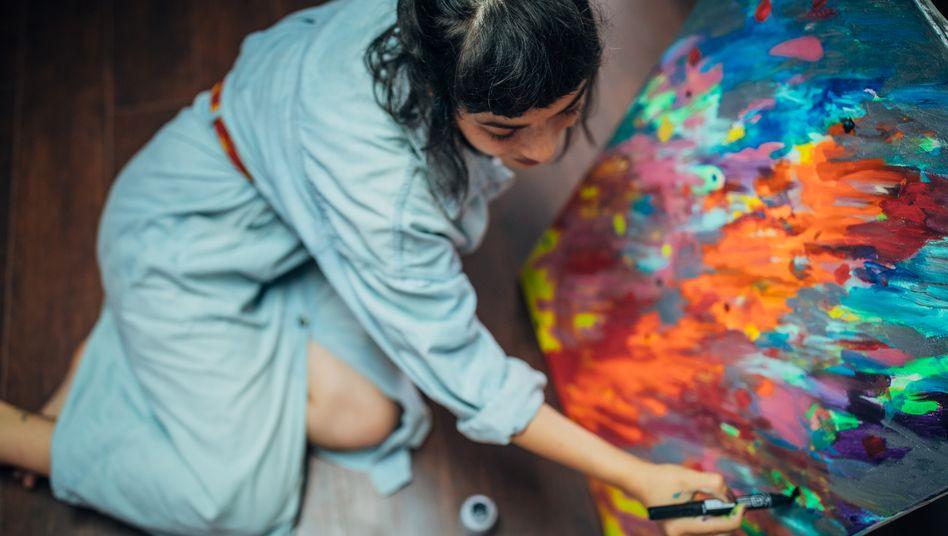 Ich kann gut malen – aber sollte das meine Berufswahl beeinflussen? (Symbolbild)