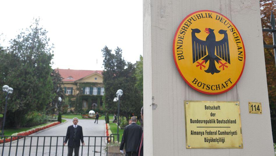 """Deutsche Botschaft in Ankara: Der Vorfall wird als """"extrem sensibel"""" eingestuft"""