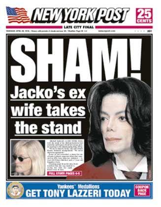 """""""Post""""-Ausgabe mit Titelgeschichte über Michael Jackson: """"Nero fiedelte, während Rom brannte"""""""