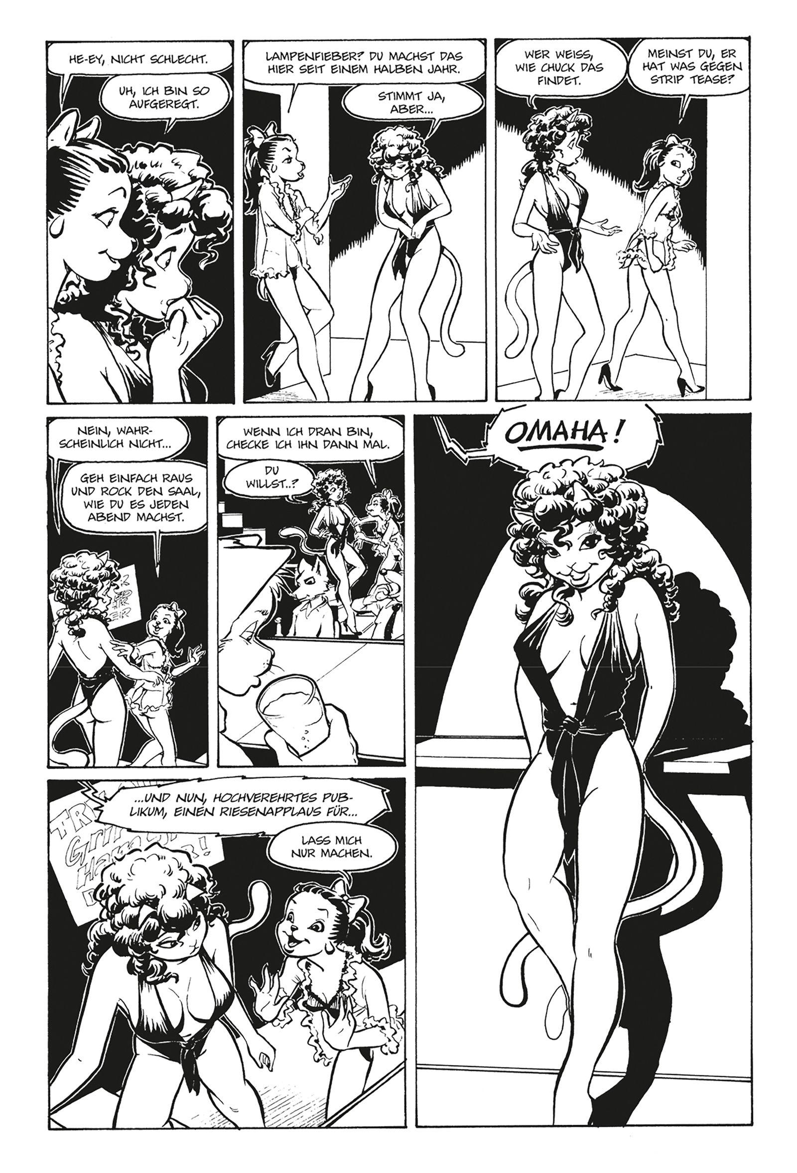 Comic/ Reed Waller & Kate Worley: Omaha