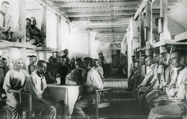 """Gulag-Häftlinge in Workuta 1945: """"Die Angst aus den Terrorjahren nie losgeworden"""""""