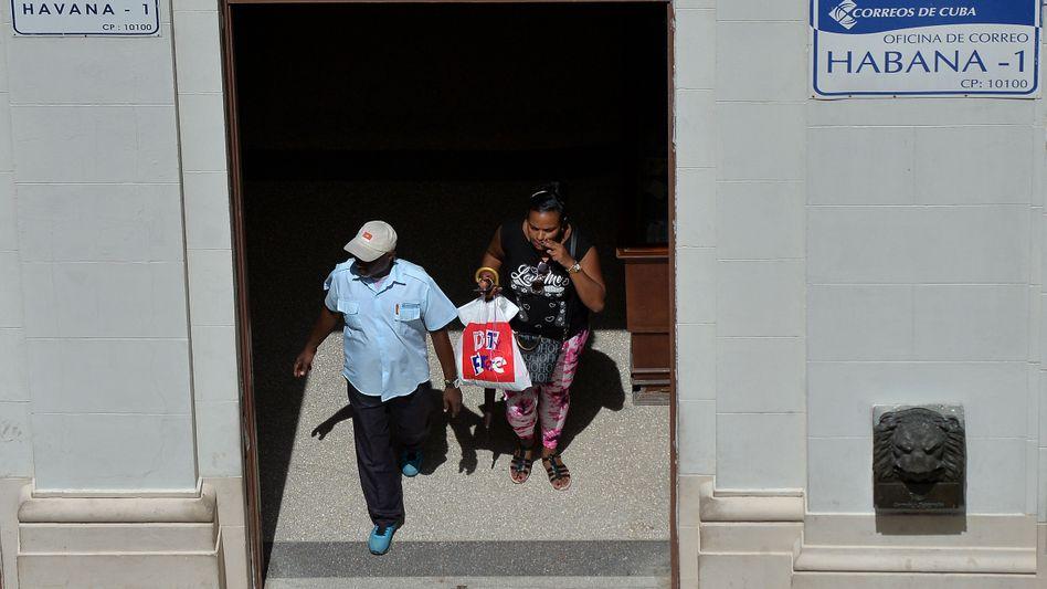 Poststelle in Havanna
