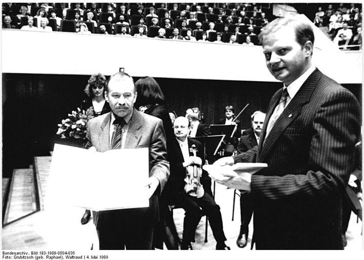 Bernd Seidel 1989; Signatur im Bundesarchiv: Bild 183-1989-0504-035