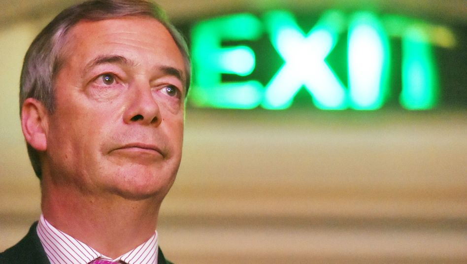Wollte einfach nur raus aus der EU: Brexit-Parteichef Nigel Farage